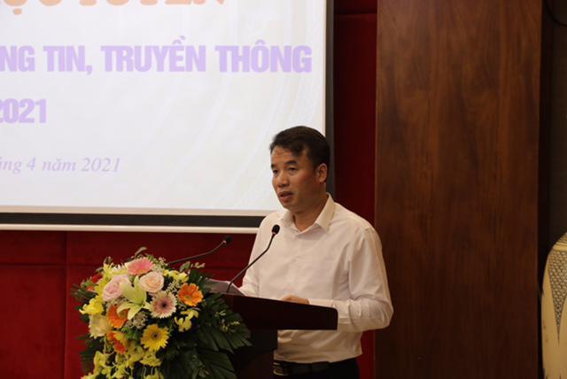 Tổng Giám đốc BHXH Việt Nam Nguyễn Thế Mạnh phát biểu khai mạc hội nghị.