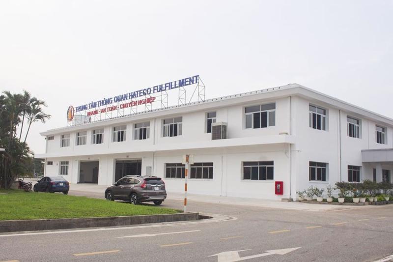 Địa điểm thông quan nằm trong khu Cảng cạn ICD Long Biên.