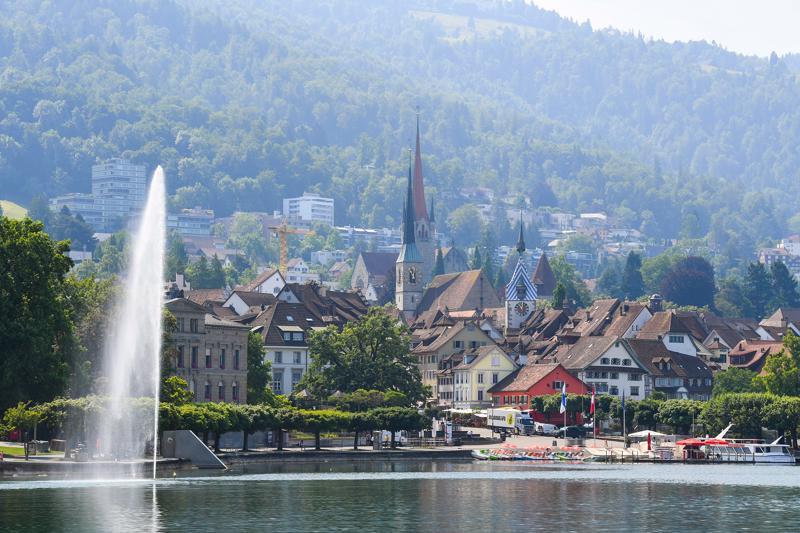 Bang Zug, Thụy Sỹ - Ảnh: Getty Images