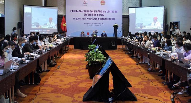 Phiênrà soát chính sách thương mại lần thứ 2 của Việt Nam giai đoạn 2014 - 2019 trong khuôn khổ WTO