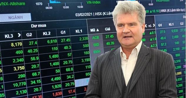 Ông Petri Deryng, Giám đốc đầu tư quỹ PYN Elite.