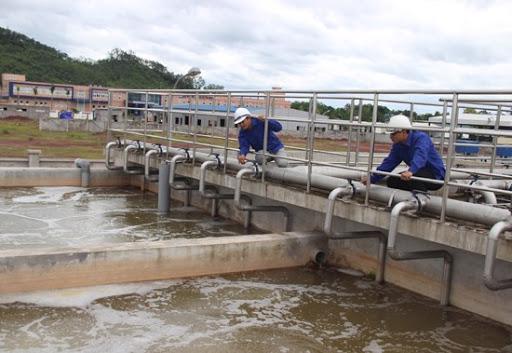 Rất ít cụm công nghiệp có công trình xử lý nước thải