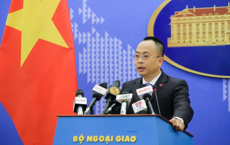 Phó phát ngôn Bộ Ngoại giao Đoàn Khắc Việt - Ảnh: Báo Thế giới Việt Nam