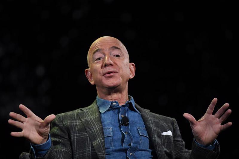 Người sáng lập Amazon Jeff Bezos - Ảnh: Getty Images