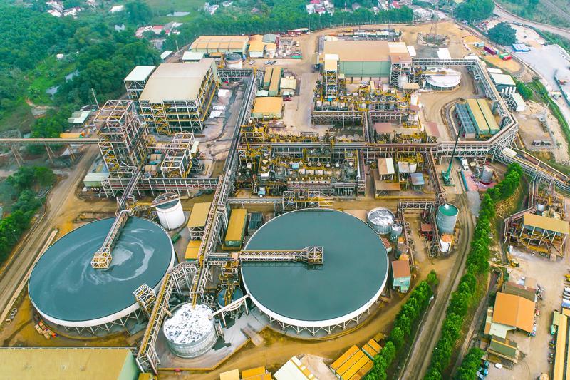 Dây chuyền nhà máy hiện đại của Masan High-Tech Materials tại Việt Nam.