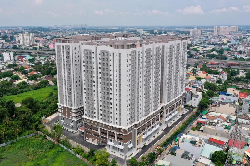 Khu căn hộ Lavita Charm (Thành phố Thủ Đức, Tp.HCM) là dự án đầu tiên mà HTN bàn giao trong năm 2021.