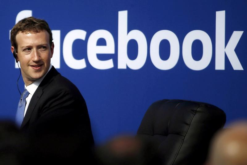CEO Mark Zuckerberg của Facebook - Ảnh: Reuters.