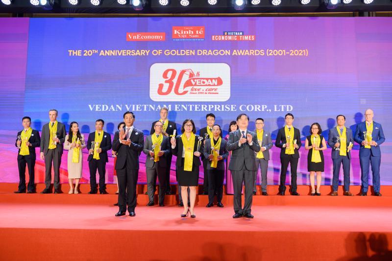 Rồng Vàng là một danh hiệu quan trọng và ý nghĩa nhân dịp đánh dấu cột mốc kỷ niệm 30 năm thành lập Vedan Việt Nam.