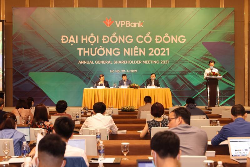 Tính đến cuối quý 1/2021, vốn chủ sở hữu của VPBank đạt gần 56.000 tỷ đồng.