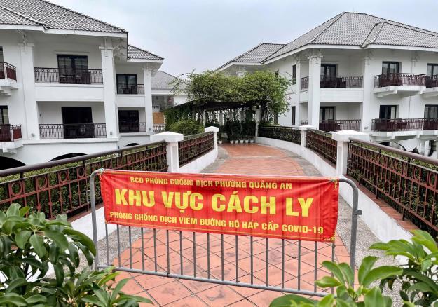 Khu cách ly tại Khách sạn InterContinental Westlake Hanoi