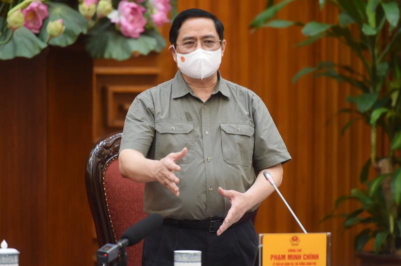 Thủ tướng Phạm Minh Chính - Ảnh: VGP
