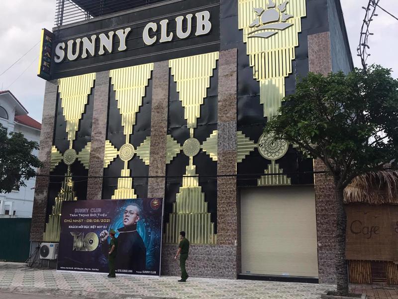 Các mẫu xét nghiệm lần 1 tại Sunny Bar đều âm tính lần 1