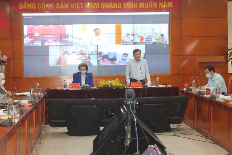 Cuộc họp trực tuyến Ban chỉ đạo Dự án CGF