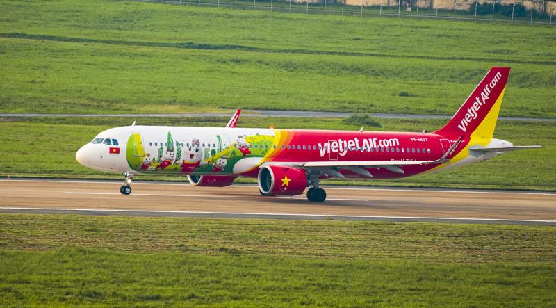 Ba tháng đầu năm, Vietjet đã thực hiện hơn 21.000 chuyến bay, vận chuyển gần 3,6 triệu lượt hành khách.