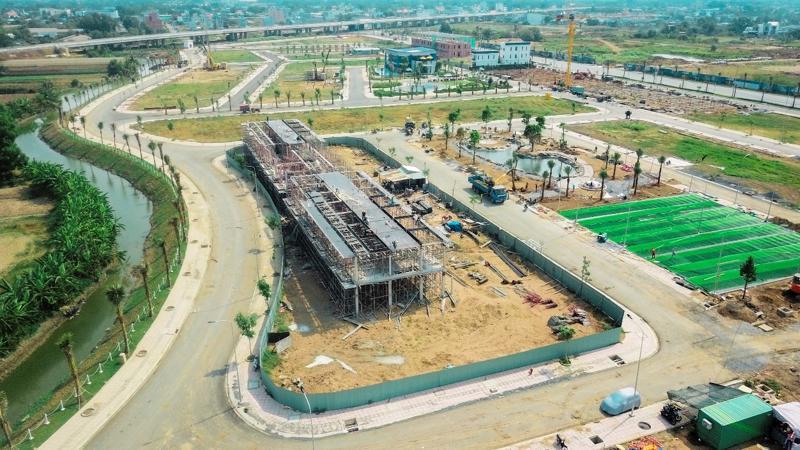 The Sol City - dự án nằm tại vị trí đắc địa, giao thoa giữa 2 huyện Cần Giuộc - Bình Chánh.