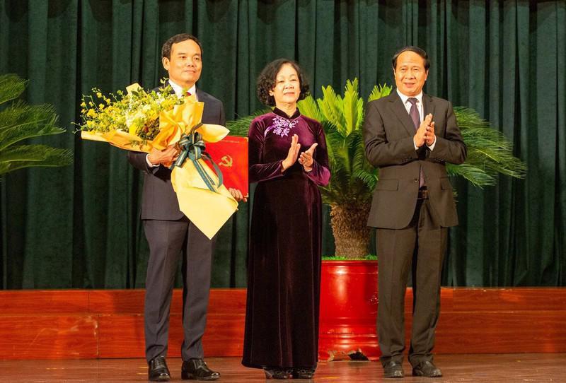 Lễ trao Quyết định của Bộ Chính trị về công tác cán bộ tại Hải Phòng