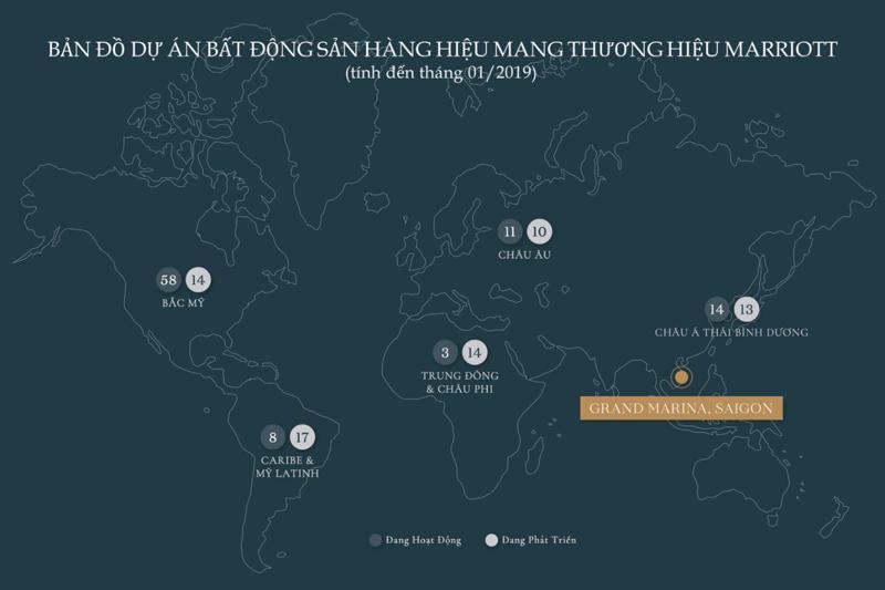 Với giá bán cao kỷ lục 18.000 USD/m2 tại thị trường Hong Kong, Grand Marina, Saigon sánh ngang với giá của các dự án căn hộ hàng hiệu sang trọng bậc nhất tại Bangkok.