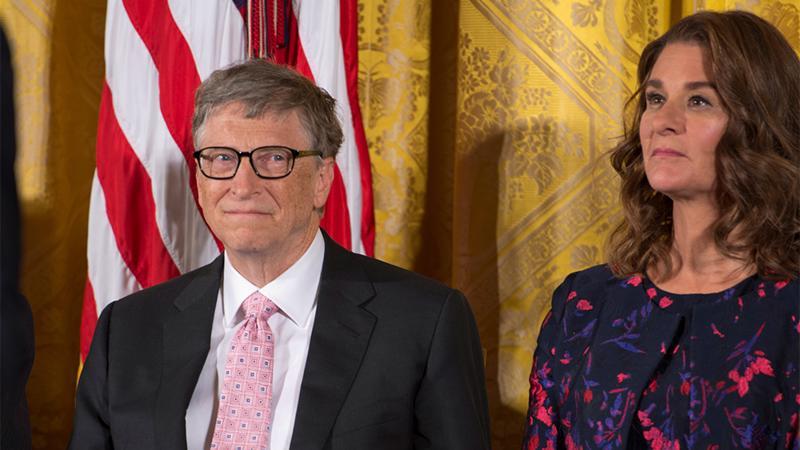 Tỷ phú Bill Gates và vợ Melinda Gates - Ảnh: Getty Images