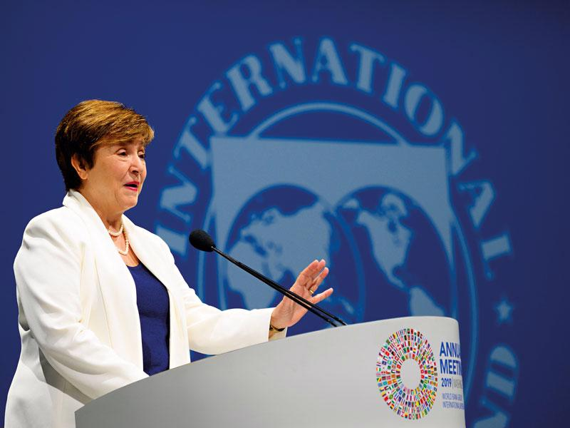 Tổng giám đốc IMF, Kristalina Georgieva.