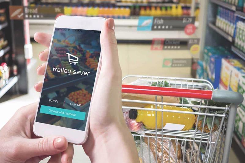 Hoạt động mua sắm di động ngày càng tăng
