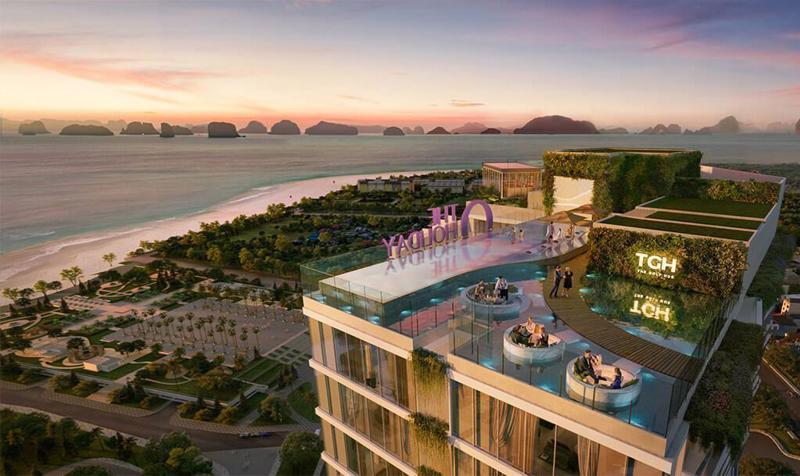 Không gian sky resort tại tầng 39 mang đến trải nghiệm trọn cảm xúc cho du khách.