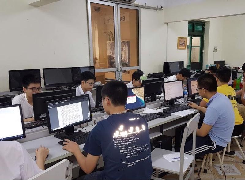 Học sinh hào hứng với hình thức thi trực tuyến