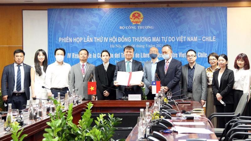 Quan hệ Việt Nam-Chile đang trên đà phát triển và đạt những kết quả tích cực