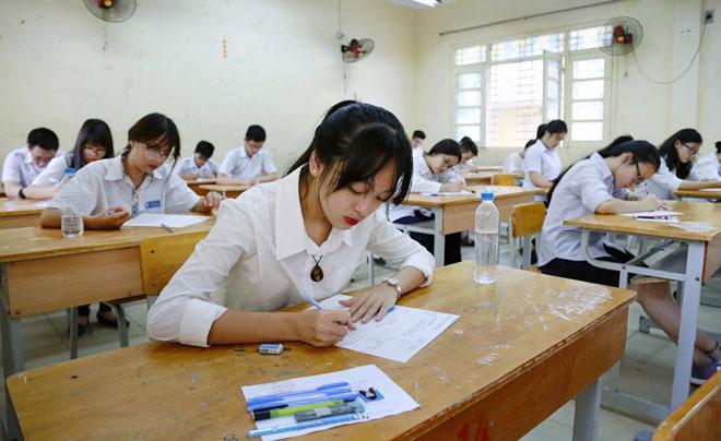 Các thí sinh sắp bước vào kỳ thi tuyển sinh năm học 2021-2022