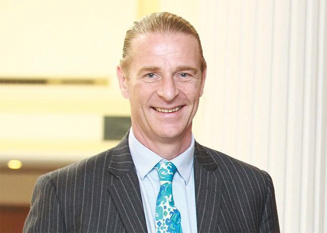Ông Dominic Scriven, Chủ tịch Công ty Dragon Capital.