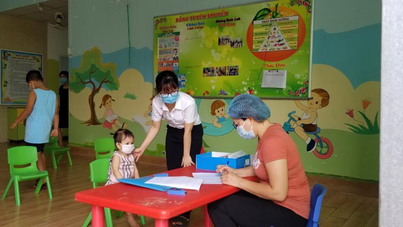 Một trường mầm non trên địa bàn Thành phố Hồ Chí Minh phải lấy mẫu xét nghiệm Sars-CoV2