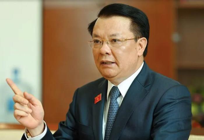 Bí thư Thành uỷ Hà Nội Đinh Tiến Dũng