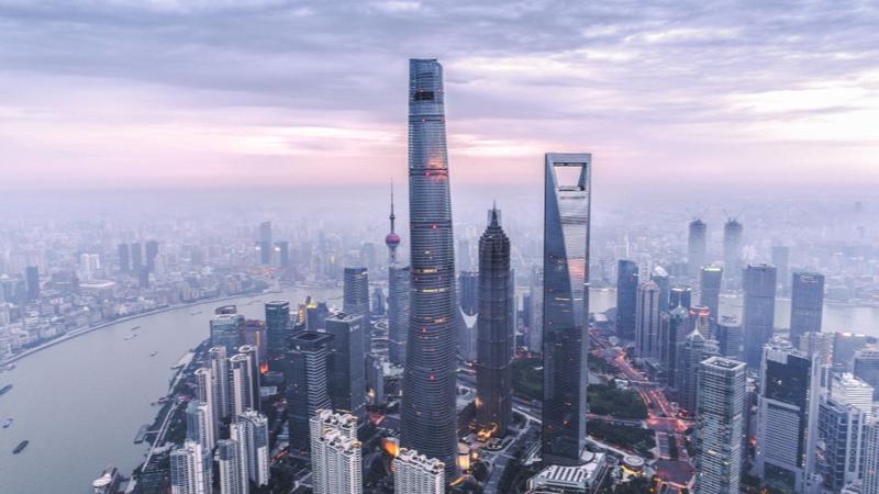 Hình ảnh cao ốc tại Thượng Hải, Trung Quốc - Ảnh: VCG