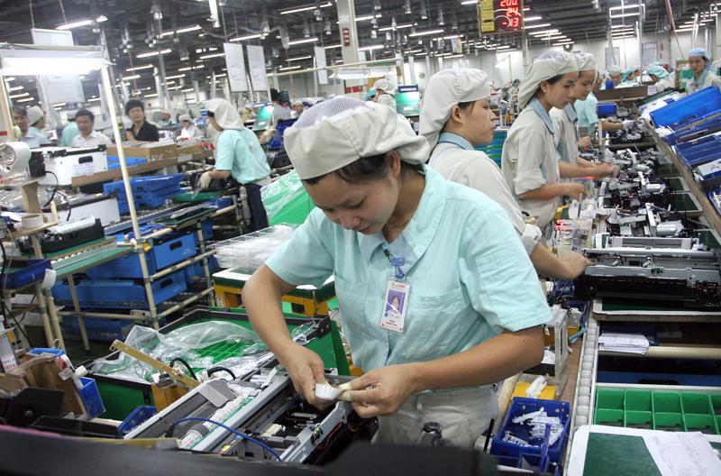 Điện tử đã trở thành ngành công nghiệp trọng yếu của nền kinh tế