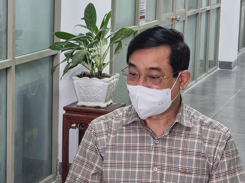 Ông Lương Ngọc Khuê, Cục trưởng Cục Quản lý Khám, chữa bệnh (Bộ Y tế)