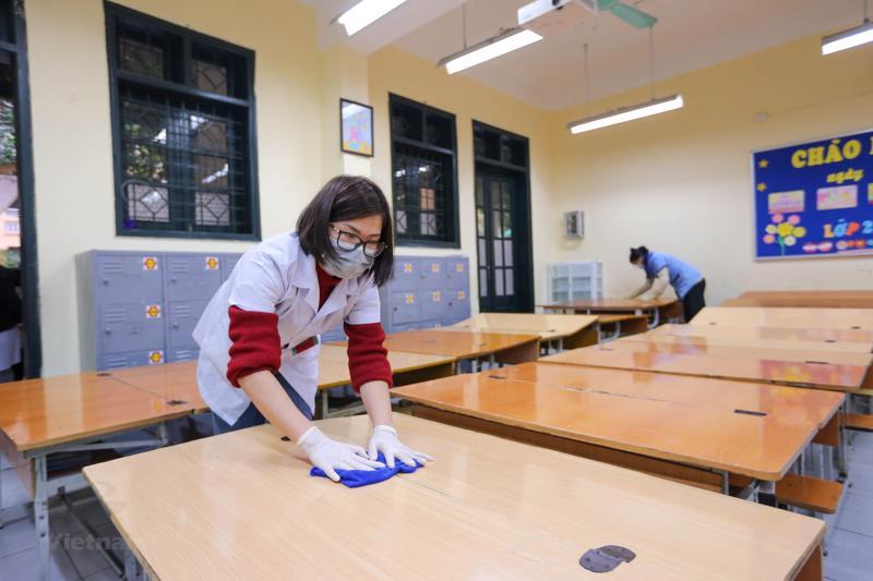 Thị xã Hoàng Mai xuất hiện ca dương tính, học sinh được thông báo dừng đến trường