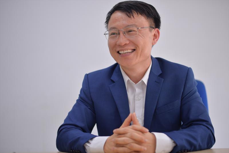 Ông Lê Anh, Tổng giám đốc Công ty TNHH Mắm Lê Gia.