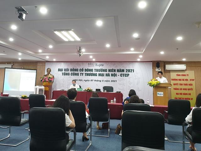 Ngày 7/5, Tổng Công ty thương mại Hà Nội tổ chức Đại hội cổ đông thường niên.