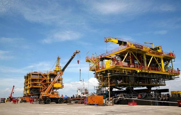 PVC làm tổng thầu EPCI dự án H4 - mỏ Tê Giác Trắng.