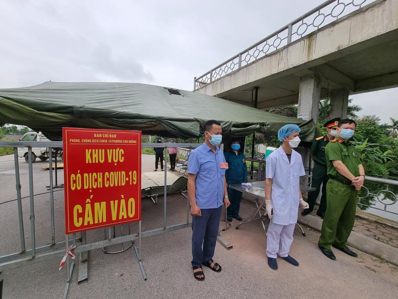 Điểm chốt phòng dịch tại Bắc Ninh