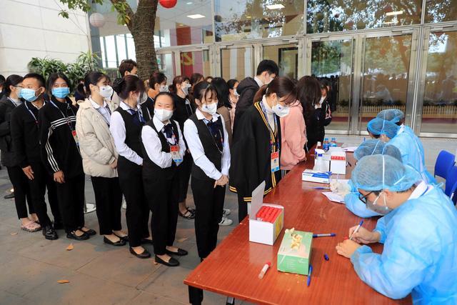 Trường trung học phổ thông Kinh Bắc ghi nhận 6 học sinh mắc Covid-19