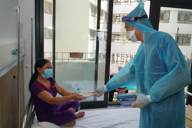 Những hình ảnh mới nhất về các bệnh nhân được chụp tại Bệnh viện Bạch Mai cơ sở Hà Nam. Ảnh: Bệnh viện Bạch Mai cung cấp.