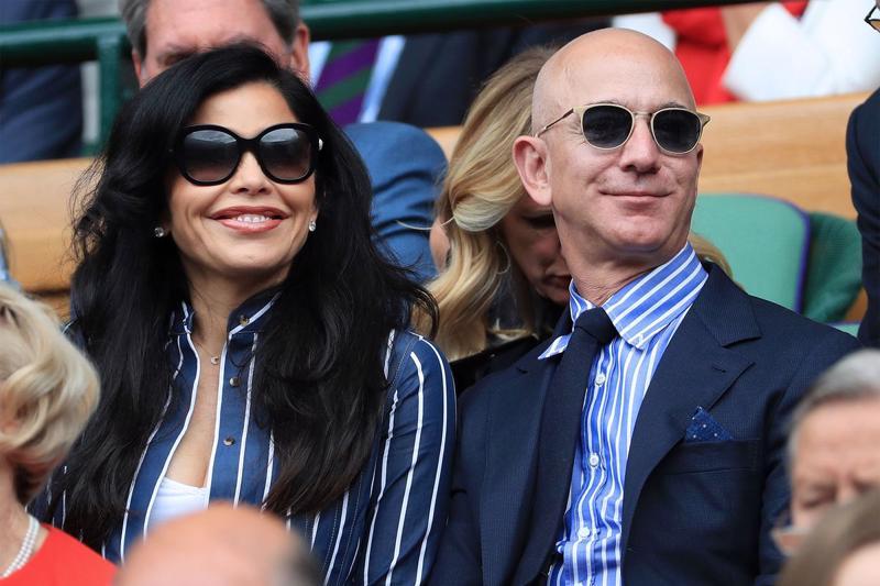 Tỷ phú Jeff Bezos và bạn gái Lauren Sanchez - Ảnh: Getty Images