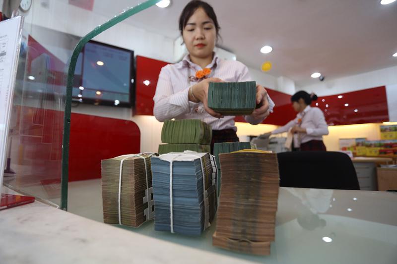 Ngân hàng đang cố gắng kiểm soát dòng tiền ra vào hợp lý.