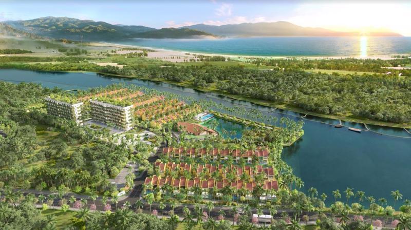 Những dự án bất động sản sở hữu tính đa năng trong khai thác có lợi thế cạnh tranh lớn. (Ảnh phối cảnh dự án Casamia Calm Hoi An).