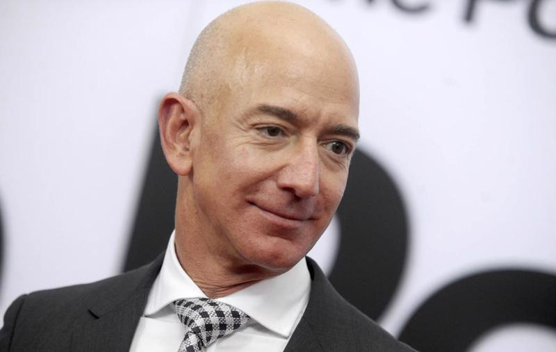 Tỷ phú Jeff Bezos, người sáng lập Amazon - Ảnh: Getty Images