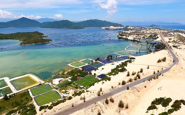 Một góc vịnh Vân Phong