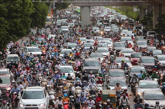 Tuyến đường Thanh Xuân - Nguyễn Trãi là một trong những điểm đen ùn tắc giao thông lâu nay của Hà Nội...