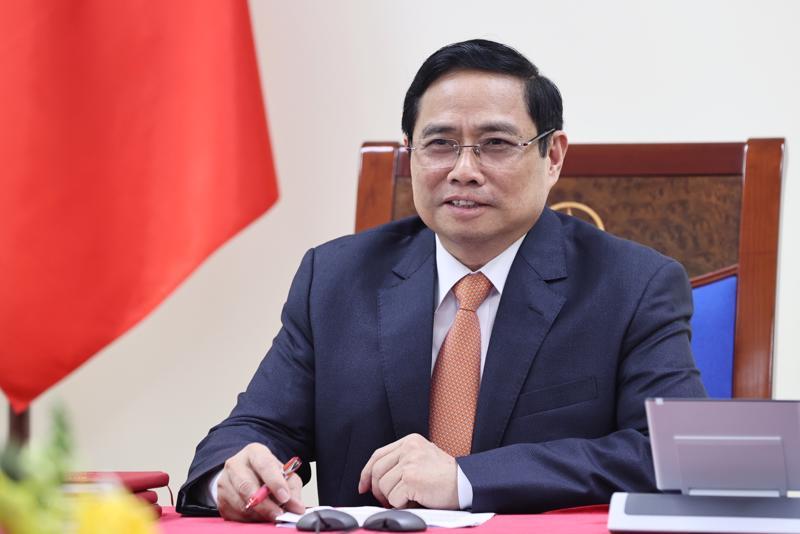 Thủ tướng Phạm Minh Chính - Ảnh: TTXVN/VNA.
