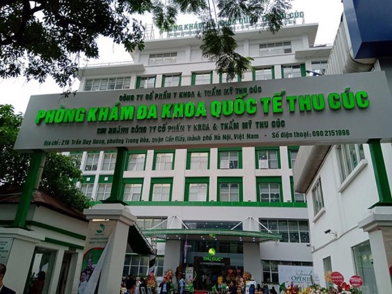 Phòng khám Đa khoa quốc tế Thu Cúc.