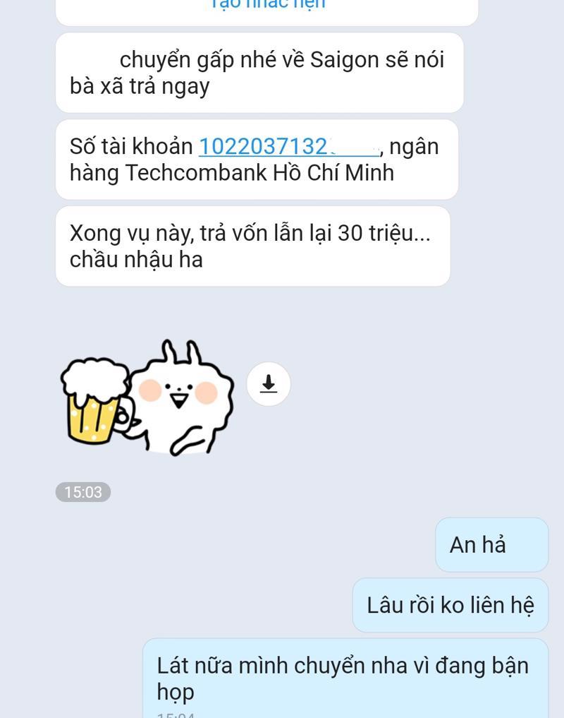 Hình thức hack tài khoản Zalo, Facebook để vay mượn tiền bạn bè thường gặp nhất hiện nay.